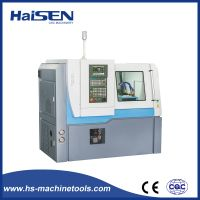S7China Factory of CE Certificate 2 Axis Linear Guideway 5 Gang Tool Flat Bed CNC Lathe Machine