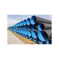 HDPE plastic corrugated drainage pipe