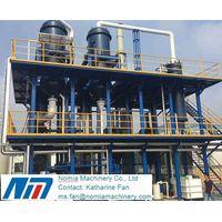 triple effect evaporator multiple effect evaporator for waste water treatment, beverage,sugar,milk