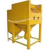 pressure sand blasting cabinet
