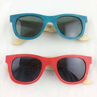 China wholasale custom Plastic Bamboo Sunglasses Stock