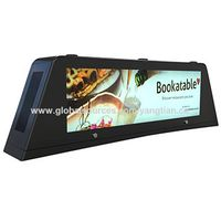Bus/taxi top monitor for full outdoor advertising, outdoor waterproof