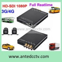 4 Channel D1 In Car DVR for School Bus Used