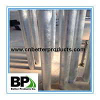in ground steel bollard for export