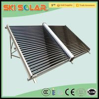 600L split non-pressurized swimming pool heating equipment solar collector