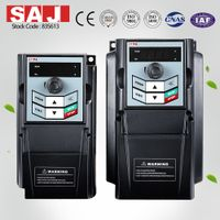8000m AC MOTOR DRIVE, frequency inverter,single phase 50/60Hz input, 2.2kw , 0-600Hz output thumbnail image
