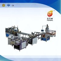 Automatic rigid box making line