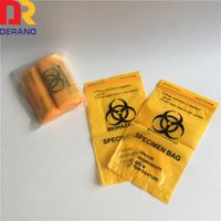 Cheap Plastic LDPE Medical Baggies/Specimen Bag for Lab