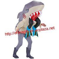 Inflatable Adult Costume - Shark Head thumbnail image
