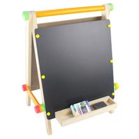 Safety and Eco-Friendly Wooden Portable Art Easel Manufacturer for Kids and Children thumbnail image