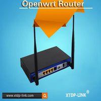 16MB flash 128MB DDR2 ram public wifi Openwrt wireless router