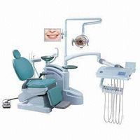 Dental unit with CE Mark, Big Table for Dentists, Chair Movement and HP Working Inter-lock
