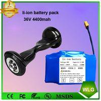 36V 4.4Ah 10S2P 158Wh Lithium Li-Ion Battery Pack 18650 4400Mah Hoverboard Li Ion battery thumbnail image