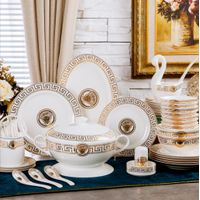 BONE CHINA TABLEWARE SET PHNOM PENH CERAMIC PLATE SET AND GIFT PACK