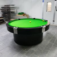 Promotional New model round pool table 8ft/9ft