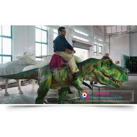 kiddie entertainment dinosaur rides