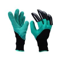 Nitrile Coated Protection Work Garden Gloves