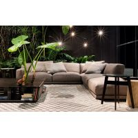 elegant modern living room furniture fabric sectional sofa set and chaise lounge