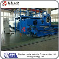 Industrial CNC Induction Pipe Bending Machine with Bending Arm Movement thumbnail image
