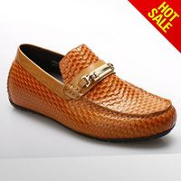 Guangzhou factory handmade italian slip on boat shoes