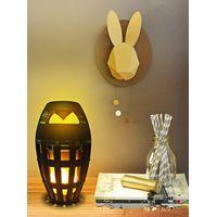 New Design Mini LED Flame Speaker Portable Wireless Bluetooth Speaker for Christmas Gift