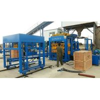 QT12-15 automatic concrete paver brick making machine hollow block machine