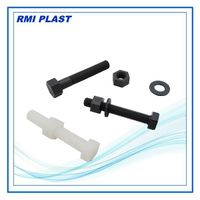 PVC,PP,Nylon,PVDF plastic bolt, nut, screws