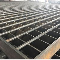 Heavy Duty Safety Flooring Galvanized Steel Grating