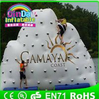 Guangzhou Qin Da Inflatable  iceberg water park used