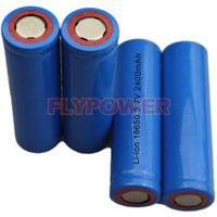 3.7V 2400mAh 18650 Lithium Ion Battery Cell (FLC-18650-2400)