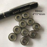 High Speed 4x11x4 694 Miniature Ball Bearings 694zz