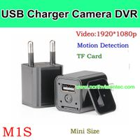 M1S, USB Charger Camera DVR, 1080p/30fps/AVI,Video Sync, Support TF Card, Mini Size, HOT Product thumbnail image