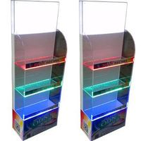 Acrylic led light display stand