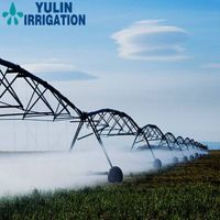 Hot Dip Galvanized Steel Pipes Center Pivot Spraying Irrigation System