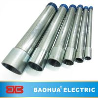 Galvanized steel IMC conduit