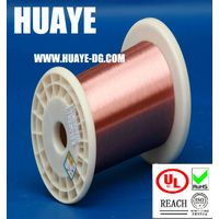 High quality electronic UL RoHS Self bonding solderable polyurethane 155 degree round enameled coppe