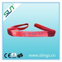 2020 2T Polyester Flat Webbing Sling Crane Equipment Lifting Straps thumbnail image