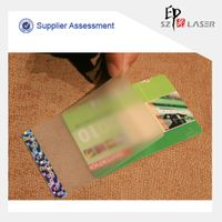 Different Sizes Hologram Hot Laminating Security Pouches
