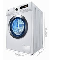 Automatic drum washing machine household high temperature sterilization 8kg