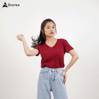 Custom Printing 100% Cotton T-shirt Sublimation Blank T-shirt High Quality thumbnail image