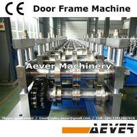 Customized steel door jamb frame forming line