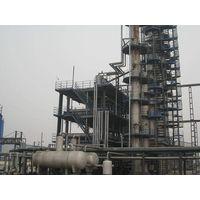 Bitumen or asphalt oxidation unit