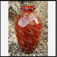 Mouth Blown Art Glass Vases