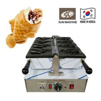 Taiyaki Machine Korea Electric Ice Cream Fish-Shaped Bun 4P Machine Baking machine Made in Korea