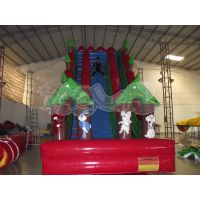 Stimulating Cliff Hanger Inflatable slide