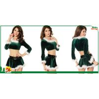 Elf Top with Marabou christmas costumes thumbnail image