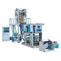 Plastic Film Blowing and Printing Extruder Machine