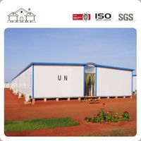 Fast Installation Flat Pack Light Steel Prefab Labor Camp