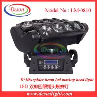 The new version led beam moving head light double eight spider light bar effect light LM-0810 thumbnail image