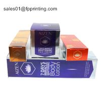 CMYK Printed White Cardboard Paper Box for Cosmetic Packaging thumbnail image